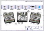 Hardware configuration layout of the mixing console
